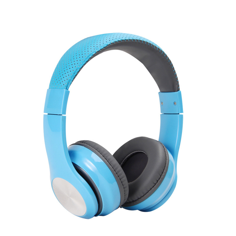 Aibesser pure and fresh dot design wired 3.5mm headphone universal foldable sports gaming music earphone earbuds for computer