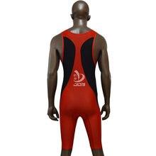 Работа триатлон костюм лайкра мягкая рукавов гонки /обучение гидрокостюм купальники один кусок спорт Велоспорт запуск триатлон костюм