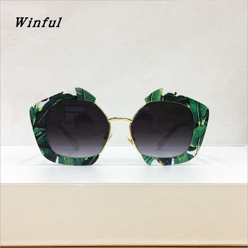 FlowerHorse New Luxury Square Sunglasses Mujeres Vintage Fashion - Accesorios para la ropa
