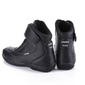 Image 3 - ARCX 防水リアル革クライミングハイキングシューズブーツオートバイ安全ギアレーシングブーツストリートツーリング乗馬靴