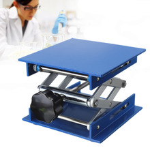 "4x4"" Lab Lift Lifting Platforms Stand Rack Scissor Lab Lifting Aluminum 4cm 15cm"