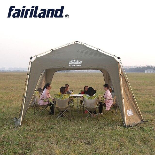 Большая солнечная укрытие Автоматическая мгновенная ультратонкая Наружная палатка с ветровым покрытием, москитная сетка, Внутренняя палатка