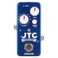 NUX Mini Core JTC Electric Bass Guitar Looper Pedal Built in 11 drum rhythms Auto Detection Machine Musical Accessories