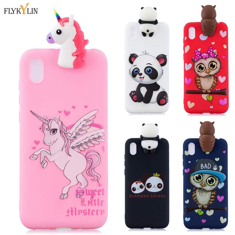 <font><b>Silicone</b></font> Case on for Fundas <font><b>Huawei</b></font> <font><b>Y5</b></font> <font><b>2019</b></font> case Soft TPU Back Cover For Coque Y 5 <font><b>Y5</b></font> <font><b>2019</b></font> Cases 3D Catoon Phone Bag Shell <font><b>Capa</b></font> image