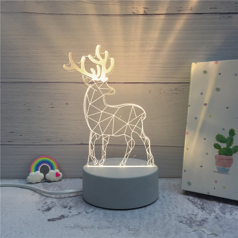 Image 3 - SOLOLANDOR 3D LED Lamp Creative 3D LED Night Lights Novelty Illusion Night Lamp 3D Illusion Table Lamp For Home Decorative Light-in LED Night Lights from Lights & Lighting