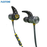 Plextone BX343 Wireless Bluetooth Earphone IPX5 Waterproof Portable HIFI Bass Stereo High End Sport With Mic