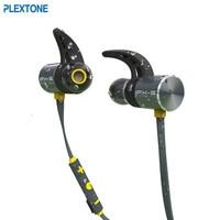 Plextone BX343 Wireless Bluetooth Earphone IPX5 Waterproof Portable HIFI Bass Stereo High End Sport With Mic