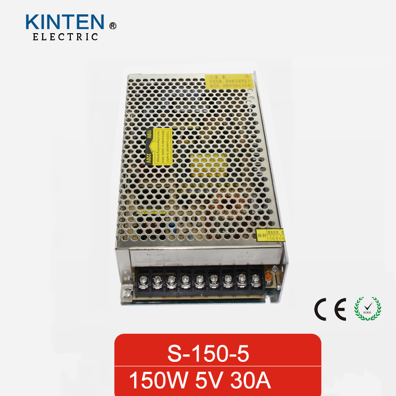 150W 5V 30A Single Output Switching power supply for LED Strip light AC to DC single output uninterruptible adjustable 24v 150w switching power supply unit 110v 240vac to dc smps for led strip light cnc