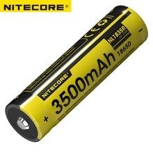 NITECORE NL1835R/NL1834R/NL1826R 3.6V 18650 배터리 고성능 마이크로 USB 충전식 리튬 이온 배터리