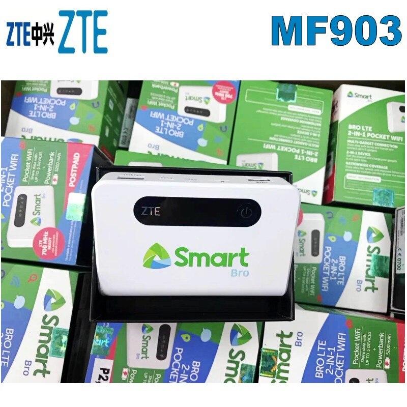 Routeur WiFi ZTE 150 Mbps MF903 de poche 4G avec fente pour carte Sim