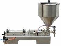 Melhor qualidade semi-automáticas 50-500 ml loção creme cosmético máquina de enchimento líquido