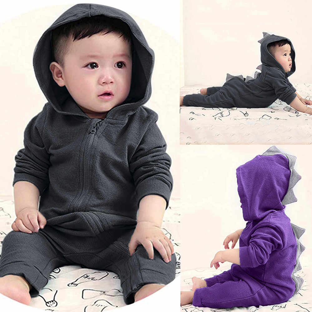 New Kids Toddler Baby Dinosaur Hoodie Tops Child Girl Boy Long Sleeve Zipper Hooded Jackets Casual Outwear 1-6 Years #811