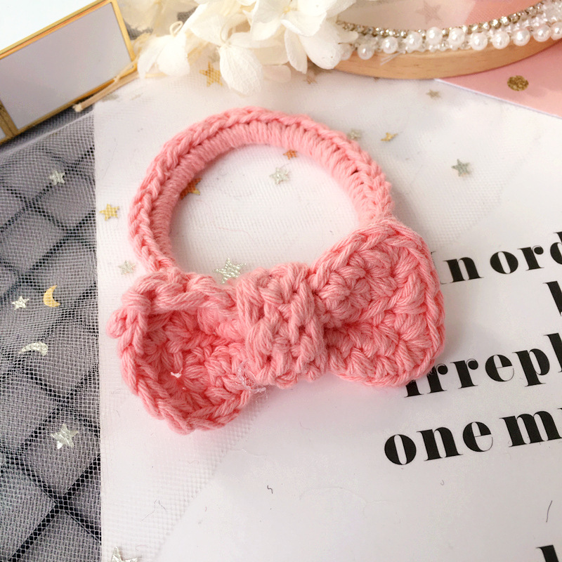 2017 Panda modeling elastic hair bands ring ties sheep fat ball hair rope  girls hair accessories children cute animal headdress-in Hair Accessories  from ... fbcee760f92