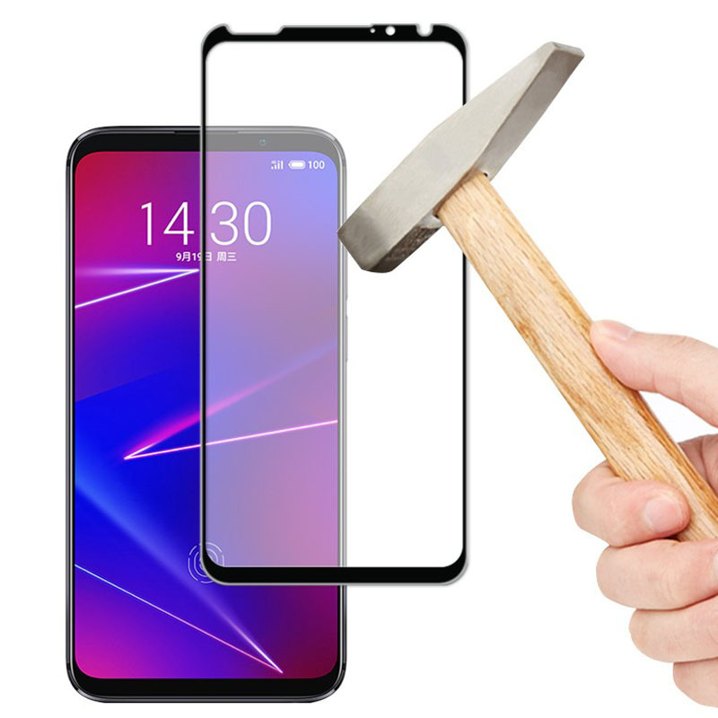 3D Full Glue High aluminum Tempered Glass For Meizu 16XS Full Cover 9H Protective film Screen Protector For Meizu 16XS-in Phone Screen Protectors from Cellphones & Telecommunications