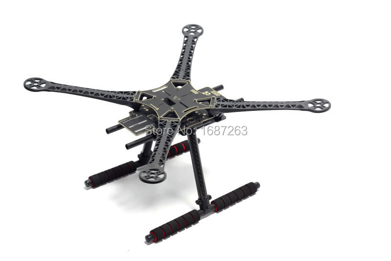 PCB  / Glass Fiber Version S500 SK500 Quadcopter Frame Kit F450 Upgrade Carbon Fiber Landing Gear for FPV MINI S800 EVO Design