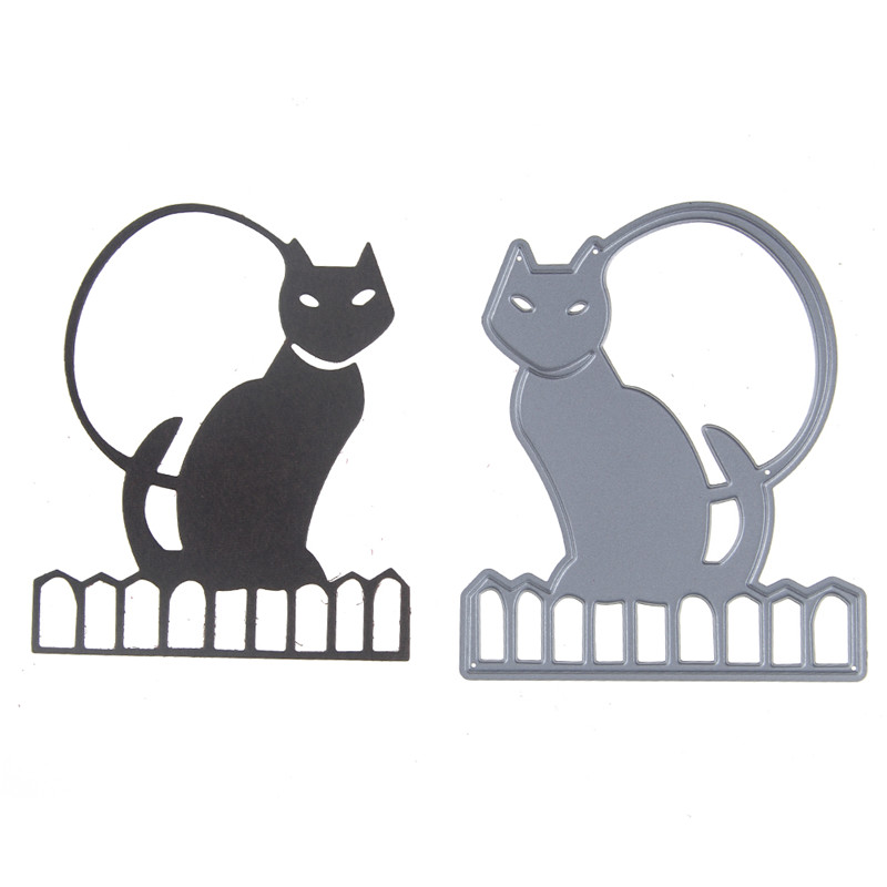 Metal Cutting Dies Scrapbooking New Arrival Cat Album Paper Card Embossing Craft DIY Cutting Dies Stencil New 2019