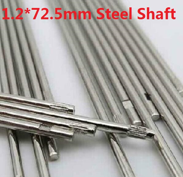 10 pcs/lot 1.2*72.5MM DIY Cars Steel Shaft Axis Model Embossing Metal Connecting Rod Free Shipping Russia diy metal clevis w hollow shaft