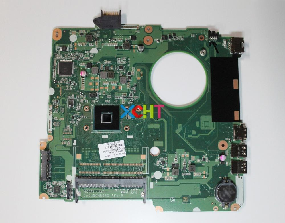 XCHT for HP NoteBook 15 15-F Series 828168-001 828168-601 DA0U8CMB6B0 CelN3050 Laptop Motherboard Tested & working perfectXCHT for HP NoteBook 15 15-F Series 828168-001 828168-601 DA0U8CMB6B0 CelN3050 Laptop Motherboard Tested & working perfect