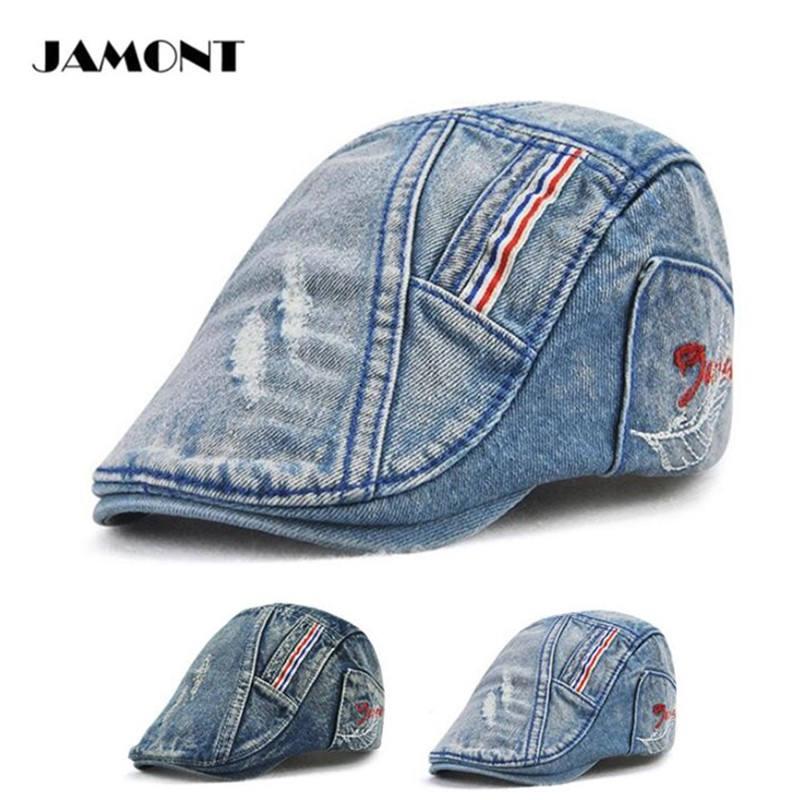 JAMONT Autumn Hat Retro Golf Caps Cowboy Hat Adjustable Buckle Hight  Quality boys and girls Golf Hats-in Golf Caps from Sports   Entertainment  on ... d84d1c36a94