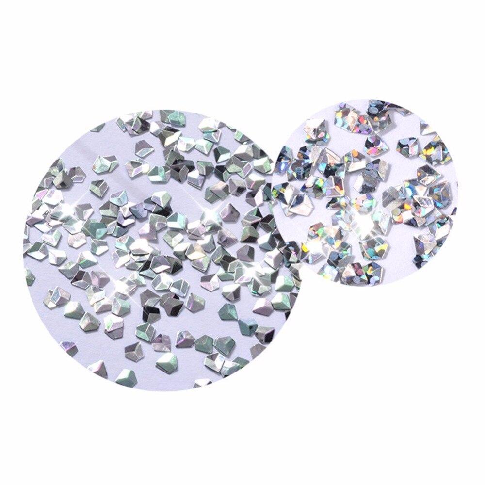 INNAIL 6 Boxen Diamant Nagel Glitter Pailletten Laser Streifen ...