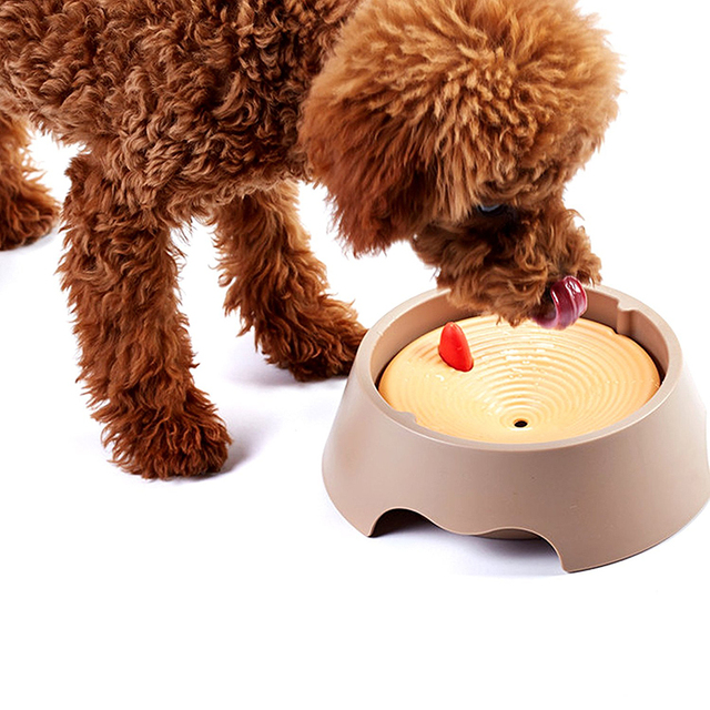 Multifunctional Pet Dog Drinking/Feeding Bowl Not Wet Mouth Puppy Tray Dual-Use Drinking Fountain Cats Dogs Food Dish Pet Feeder