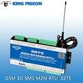 3G Versión Inteligente PLC S275 Controlador GSM SMS GPRS Registrador de Datos RS232/RS485 Ethernet Modbus TCP Remoto Hogar de Seguridad de alarma RTU