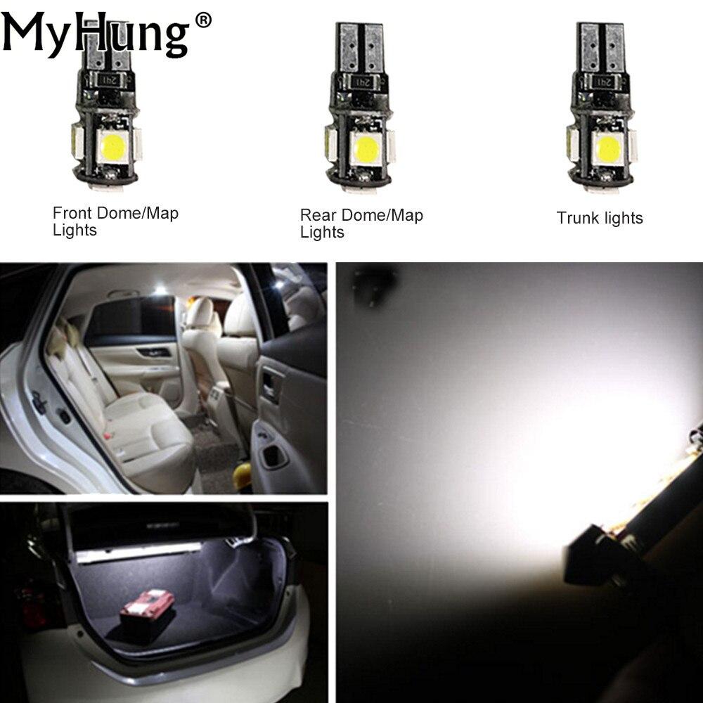 Para Ford Focus 2011-2016 sin techo solar Bombillas de conveniencia - Luces del coche