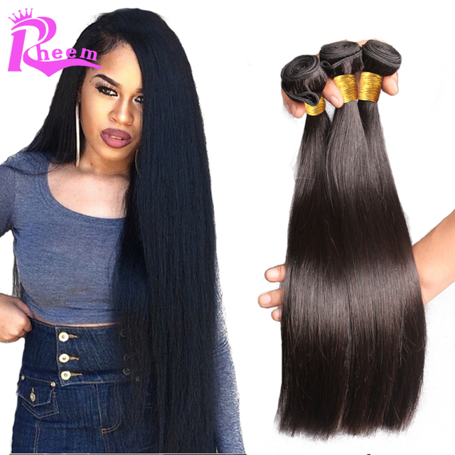 7a Cheap Malaysian Virgin Hair Straight Hair Weavemalaysian