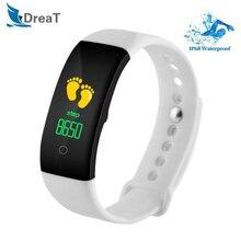 Bluetooth IP68 Sport Smart Watch Waterproof Heart Rate Monitor Smart Wristband Blood Pressure Remind Bracelet