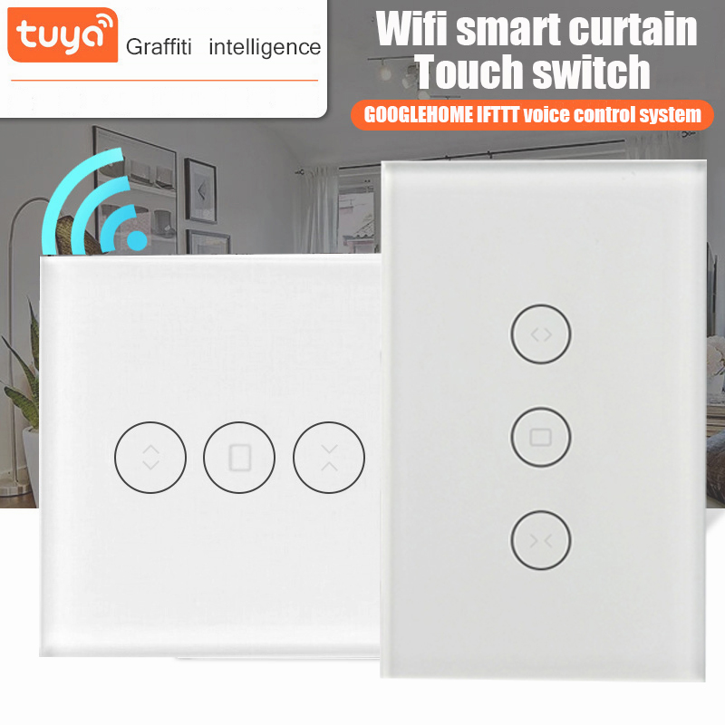 US WiFi Roller Shades Switch for Electric Motorized Roller