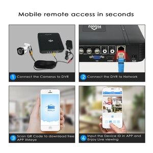 Image 4 - Hiseeu 4CH AHD monitoring 2MP 1MP ir cut kamera zewnętrzna System monitoringu wizyjnego zestaw E mail Alert, widok aplikacji