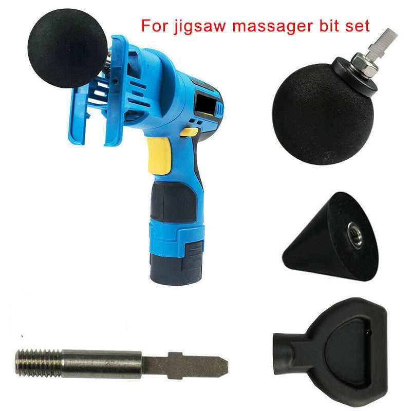 Cao 4 Bộ Gõ Massage Đầu với 1 PC Cần cho Ghép Hình Máy Massage Adapter Kèm Worx LG66