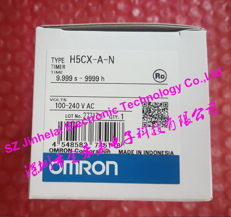 100% New and original H5CX-A-N OMRON Time relay AC100-240V Digital timer new and original tm50 3d fotek time relay microcomputer digital delay timer