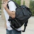 Saco Dos Homens Laptop Multi-pocketed LAZYLIFE Maleta Bolsa Homem Sacos de Negócios Laptop Tote Bag Crossbody bolsa de Ombro dos homens Saco