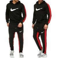 Men Sportswear Hoodies Pants Set Sprin Track Suit Clothes Casual Tracksuit Men Sweatshirts Coats Male Joggers Streetwear