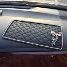 Car Ornament PVC 25.5*15cm Automobiles Magic Anti-Slip Dashboard Sticky Pad Non-slip Mat Holder For Auto Doll Phone GPS Key Coin