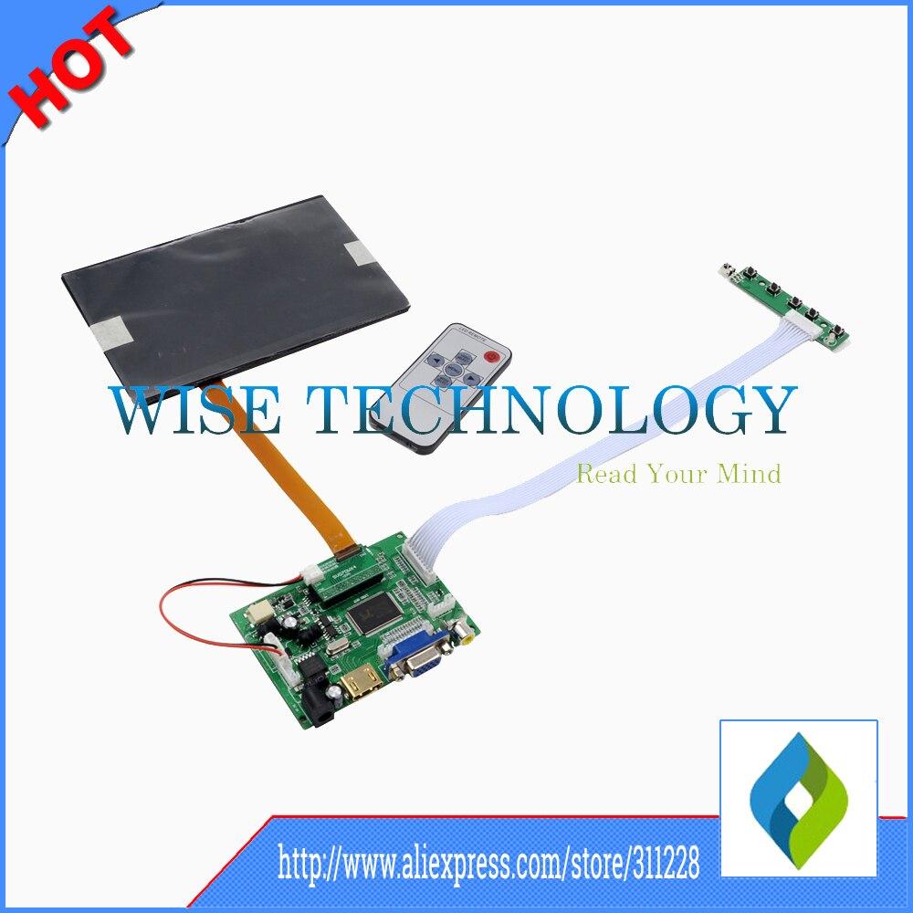 HDMI VGA 2AV Remote Lcd controller Board 7inch 1280*800 N070ICG-LD1 IPS LCD, tablet pc LCD,controller board