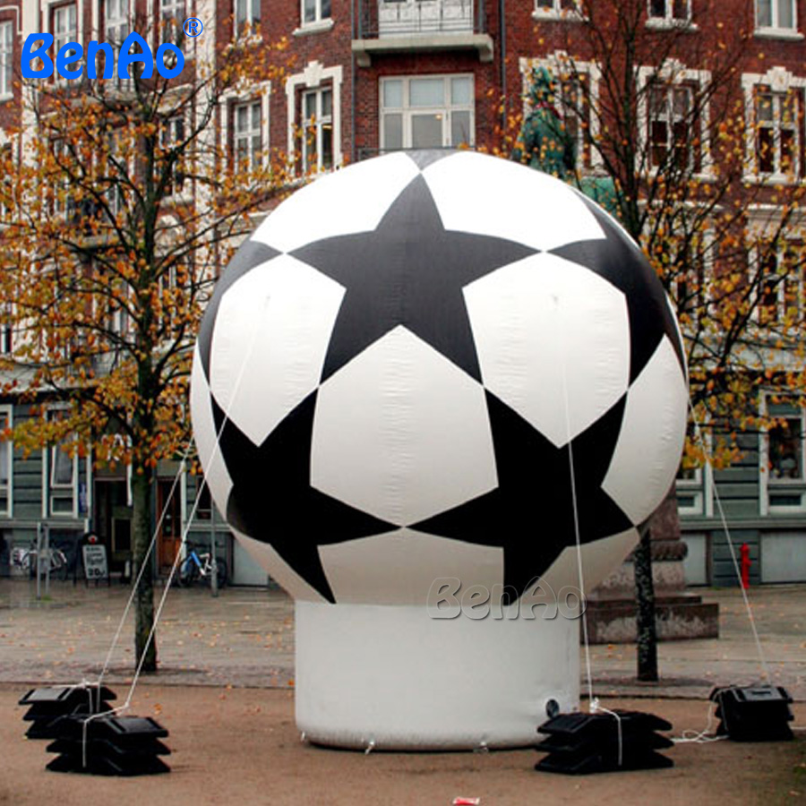 AG017 brand new inflatable soccer ground balloon for advertising/  inflatable ground balloons,advertising balloon чехол ag brand для снегохода lynx 69 yeti транспортировочный цвет черный