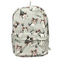 Мультфильм чи Cat Рюкзак Школьные сумки Чи Sweet Home аниме Косплэй милый кот рюкзак школьный для детей подарок
