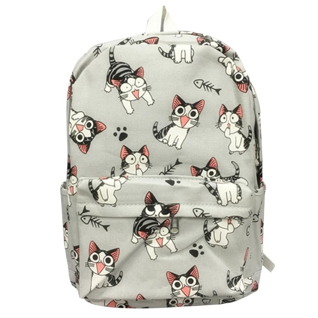 Cartoon Chi S Cat Backpack School Bags Sweet Home Anime Cosplay Cute Rucksack Schoolbag For