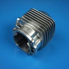 DLE цилиндров двигателя для DLE55/111/222 серебристо-серый цилиндры Радиоуправляемый квадрокоптер из набора «сделай сам» UVA аксессуары