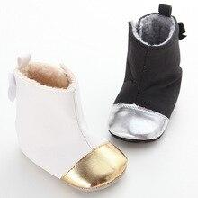 Nova Doce Moda Inverno Super Quente Crianças Bebê Recém-nascido Prewalker Shoes Princesa Meninas Manter Aquecido Botas Arco Botas de Sola Macia