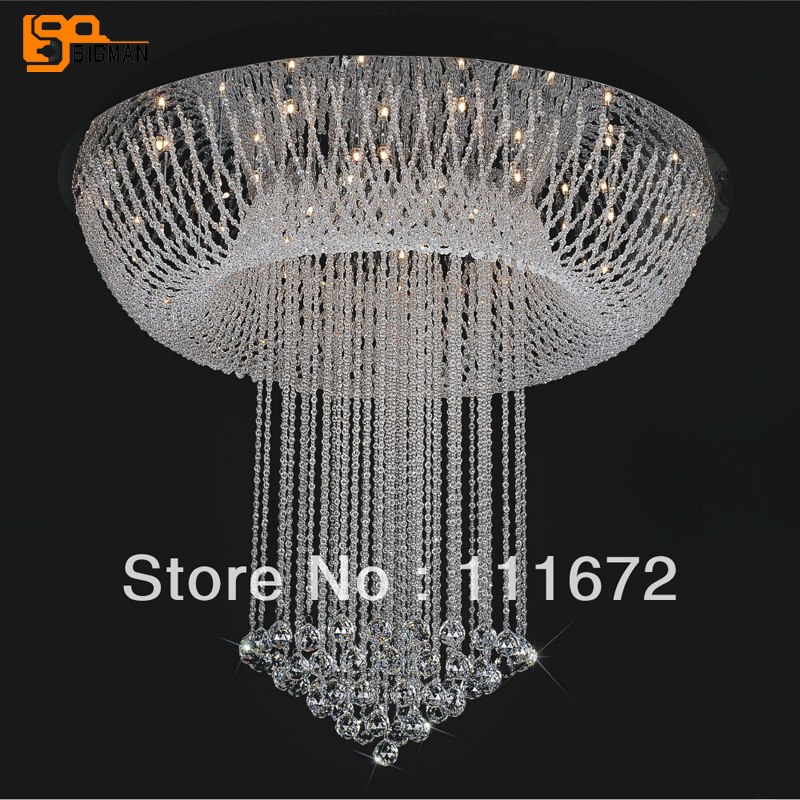 new flush mount modern luxury chandelier crystal lighting G4 luminare lustre foyer chandeliers wrought iron chandelier island country vintage style chandeliers flush mount painting lighting fixture lamp empress chandeliers