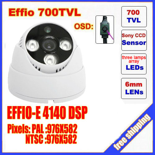 2014 top fasion new video camera mini dome camera sony effio three lamps array led infrared osd menu waterproof ir 20m c413h автоинструменты new design autocom cdp 2014 2 3in1 led ds150