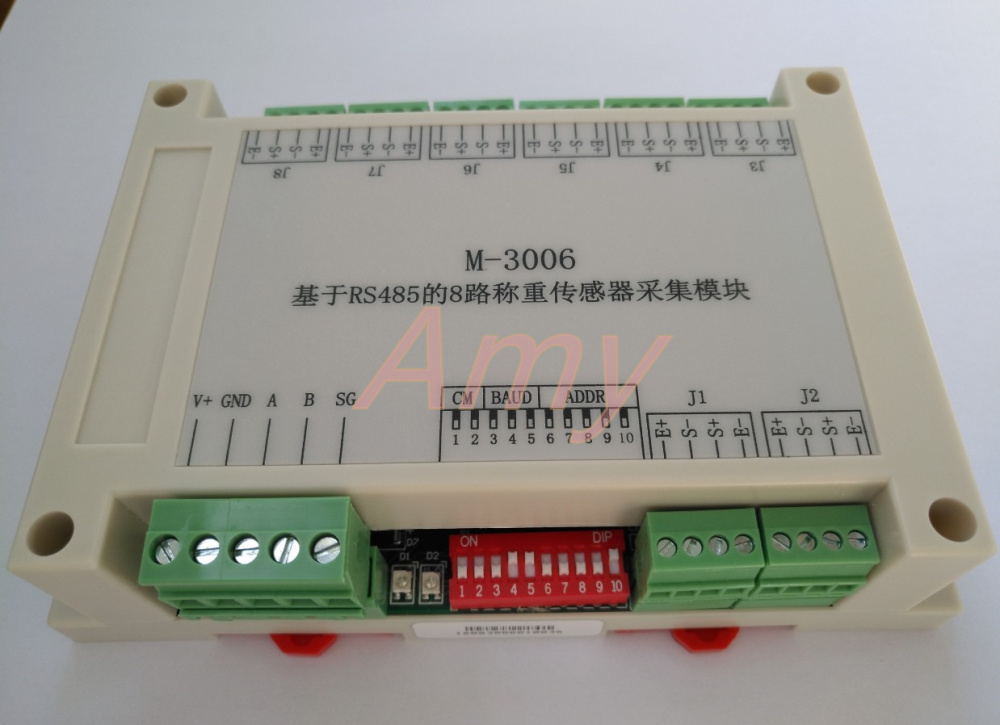 8 Way Differential Milli Voltage Input 485 Signal Collector Industrial Grade Product Excellent Performance.