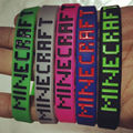 1 pc Free shipping 100% Silicone bracelet Super High Quality Sport wristband Minecraft fans must-have toy gift for kids Pokemon