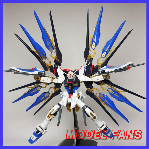 MODEL FANS Gundam Model PG 1/60 SEED DESTINY Strike Freedom Gundam model fans m3 model pg 1 60 red heresy gundam special large sword backpack gift water paste free shipping