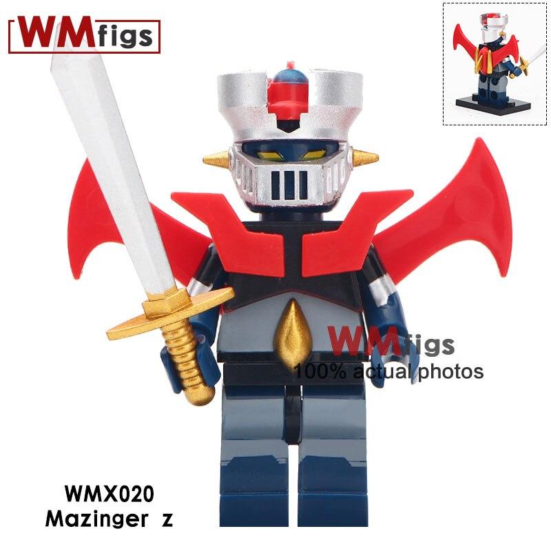 50pcs lot Robot God Mazinger Z As The Ancestor Infinity Super Heroes Iron Man 28 FX