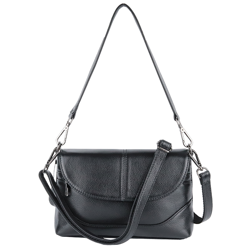 Premium 100 Genuine Leather Large Capacity Women Messenger Bags 2018 Hot Brand Designer Cross body Bag