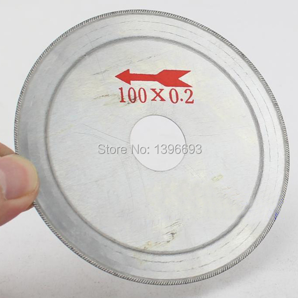 20pcs/lot Oblique Blade 110x0.2x20mm Ultra-thin Diamond Cutting Blade Discs [jade / Crystal / Carnelian] Cutting Disc